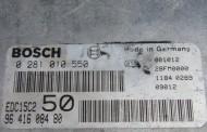 Riadiaca jednotka Citroen Picasso 2,0 HDI (66 kW) – Bosch 0281010550