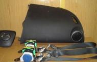 Airbag vodiča, spolujazdca, bezpečnostné pásy na MAZDA 6