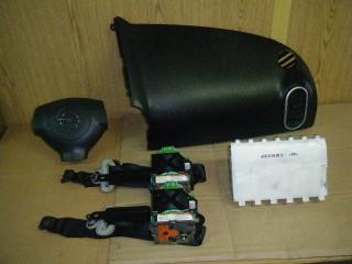 Airbag vodiča, spolujazdca, bezpečnostné pásy na Suzuki Splash a Opel Agila