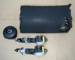 Airbag vodiča, spolujazdca, bezpečnostné pásy na Mazda CX-7 CX7