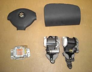 Airbag vodiča, spolujazdca, bezpečnostné pásy na Suzuki Jimny