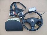 Airbag vodiča, spolujazdca, bezpečnostné pásy na Mazda MX5