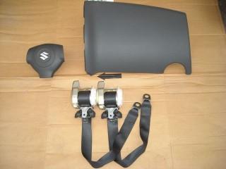 Airbag vodiča, spolujazdca, bezpečnostné pásy na Suzuki SX4 SX 4