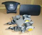 Airbag vodiča, spolujazdca, bezpečnostné pásy na Hyundai Santa Fe 2006 – 2012
