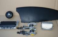 Airbag vodiča, spolujazdca, bezpečnostné pásy na Mitsubishi Lancer 2007 -