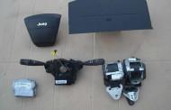 Airbag vodiča, spolujazdca, bezpečnostné pásy na Jeep Patriot