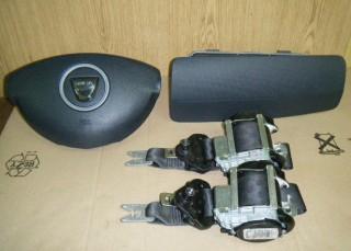 Airbag vodiča, spolujazdca, bezpečnostné pásy na Dacia Duster