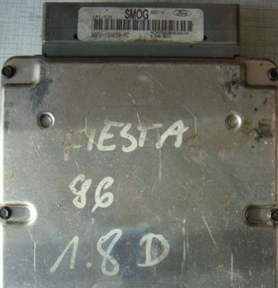 Riadiaca jednotka Ford Fiesta 1,8D – SMOG 96FB-12A650-FC