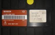 Riadiaca jednotka VW Passat, Audi A4 1,8 - 0261204183 8D0907557S