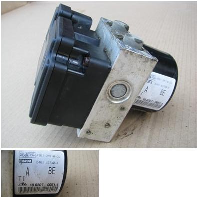 Pumpa riadiaca jednotka ABS 4S612M110CC 10.0970-0132.3 na Ford Fiesta Fusion Mazda 2