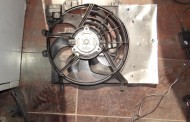 Ventilátor chladiča na Citroen C3 1,6 HDi 09-