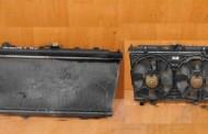 Ventilátor chladiča + chladič na Nissan Primera 2,2 Di P12