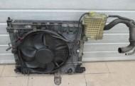 Ventilátor chladiča + chladič na Mercedes VITO 638 2,2CDi 99-03