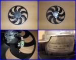 Ventilátor chladiča na Alfa 159 1,9 JTD
