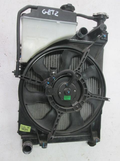 Ventilátor chladiča + chladič na Hyundai Getz 1,1