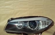 Predné bi-xenónové LED svetlo na BMW 5 - F10 natáčacie