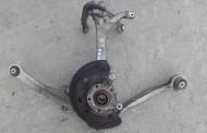 Predný otoč otočný čap náboj kolesa s ramenami na Audi A8 D3