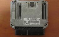 Riadiaca jednotka 0281014061 03G906021PM na VW Golf V 1,9 TDi