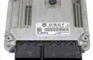 Riadiaca jednotka 03G906021PF 0281014075 na VW Caddy Touran 1,9 TDi