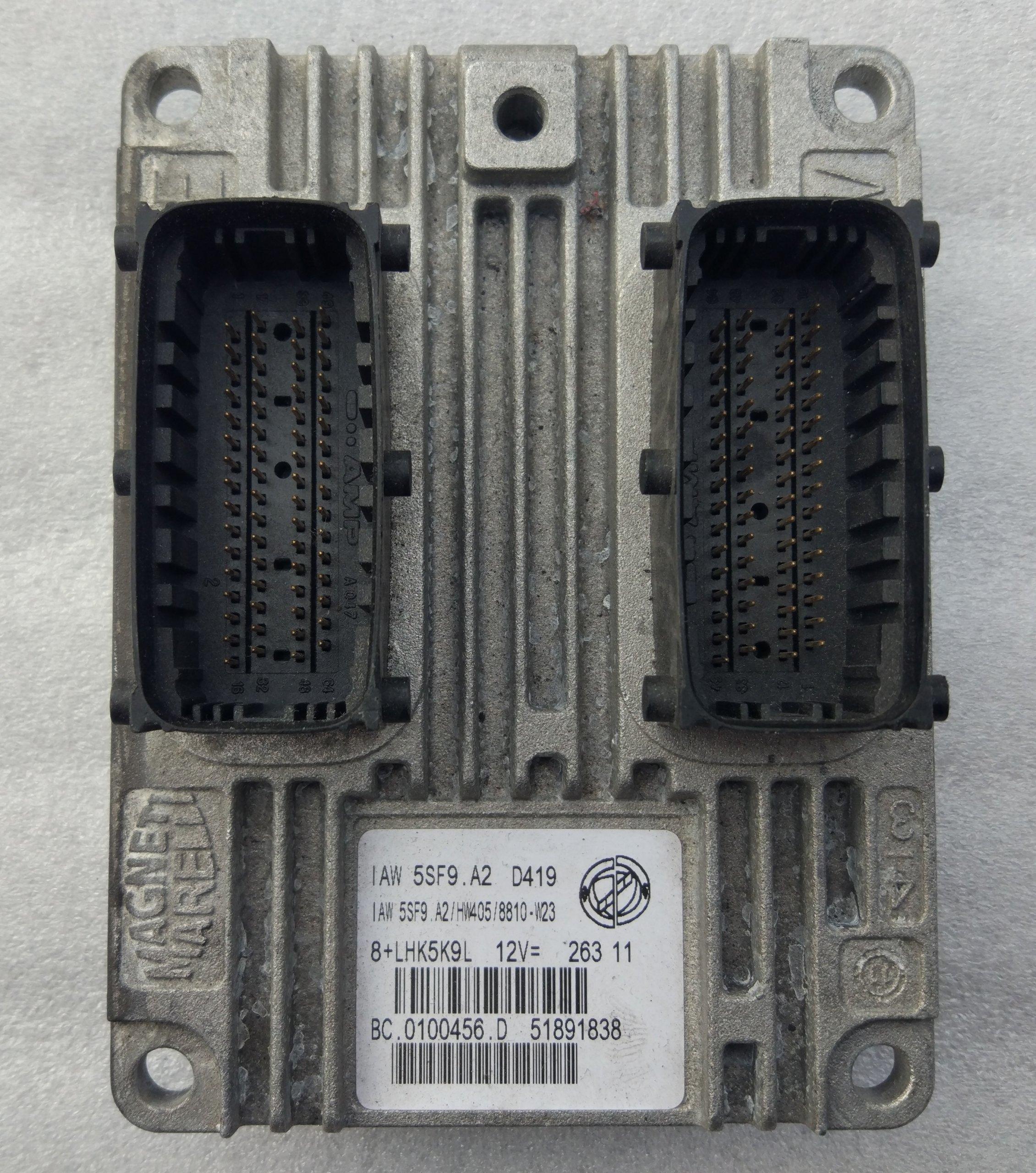 Riadiaca jednotka Fiat Punto EVO Grande Punto 1,4 IAW5SF9.A2 IAW5SF9A2 51891838