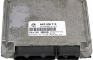 Riadiaca jednotka 6K0906019 5WP4883 na Seat Ibiza Cordoba Toledo 1,6 8V