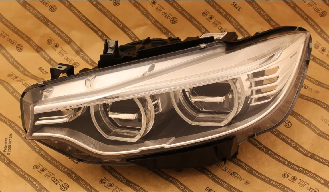 Predné svetlo LED na BMW 4 M4 F32 F33 F36 F82 2013-2016