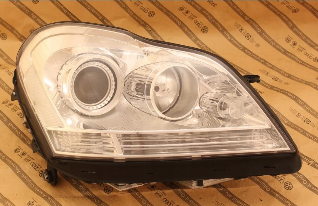 Predné bi-xenónové svetlo na MERCEDES ML W164 GL X164 facelift