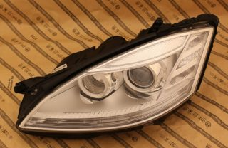 Predné bixenónové svetlo s LED na MERCEDES S W221 09-13
