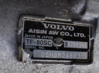 Automatická prevodovka na Volvo S60 V60V70 S80 XC60 XC70 XC90 D3 D4 D5 TF-80 SC TF80SC