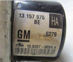 Jednotka ABS 13157576 10097005093 Opel Astra H Zafira B