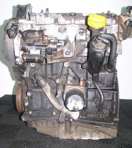 Motor 1,9 dCi F9Q760 F9Q762 60 kW 74 kW na Renault Trafic 1,9 dCi Opel Vivaro 1,9 CDTi