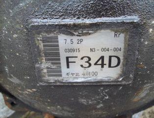 Zadný diferenciál 4,100 F34D Mitsubishi Pajero 3,2DiD