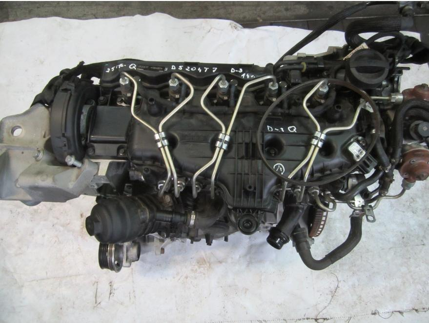Motor D5204T7 D3 100 kW Volvo C30 S40 V50 C70 S60 V60 XC60 V70 XC70 S80