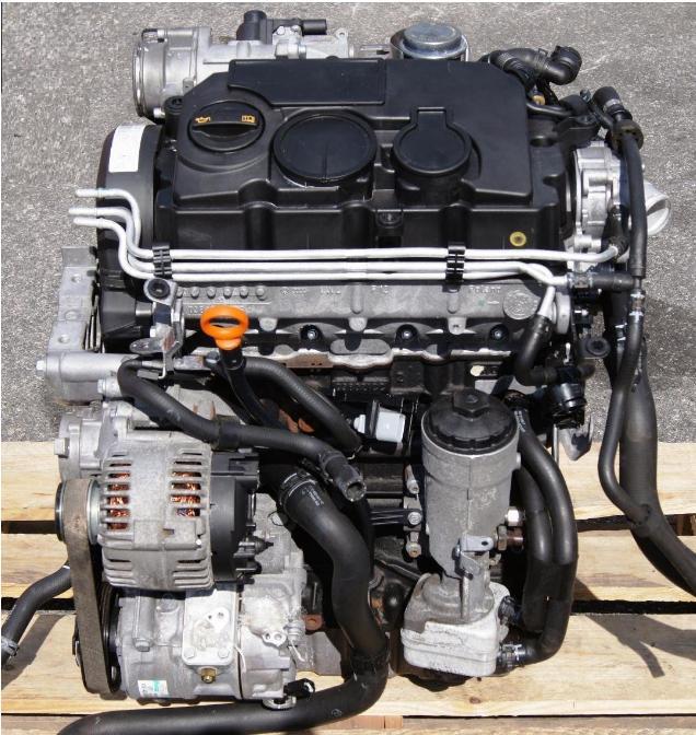 Motor 1,9 TDi 55 kW BSU na VW Caddy