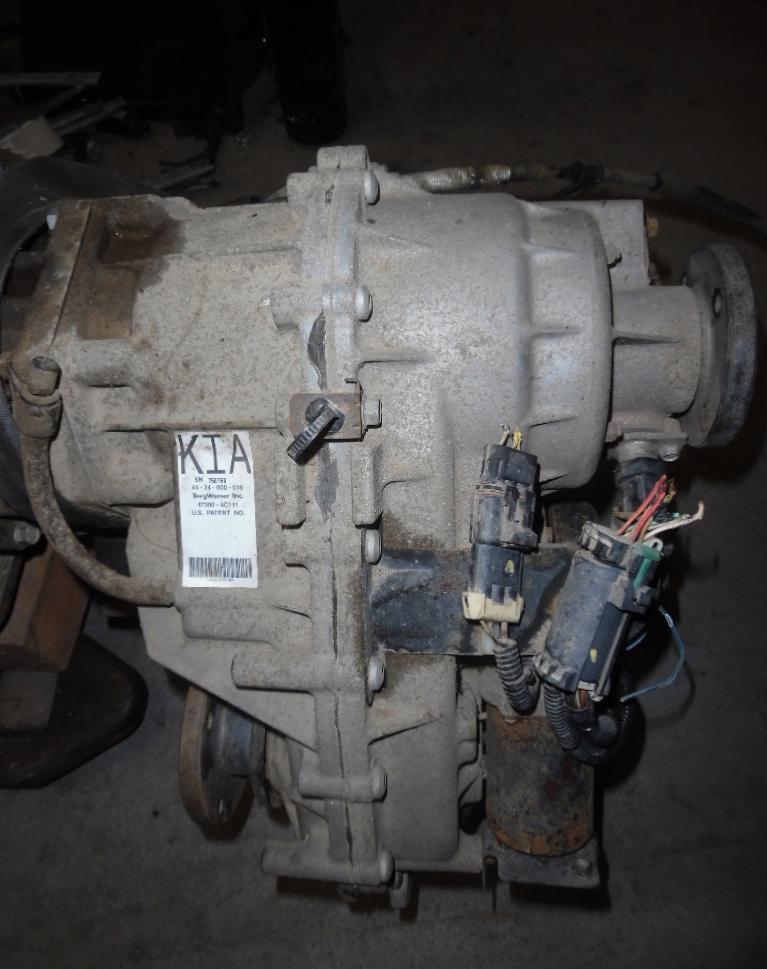 Prídavná redukčná prevodovka 47300-4C111 na Kia Sorento 2,5 CRDi 3,3 V6