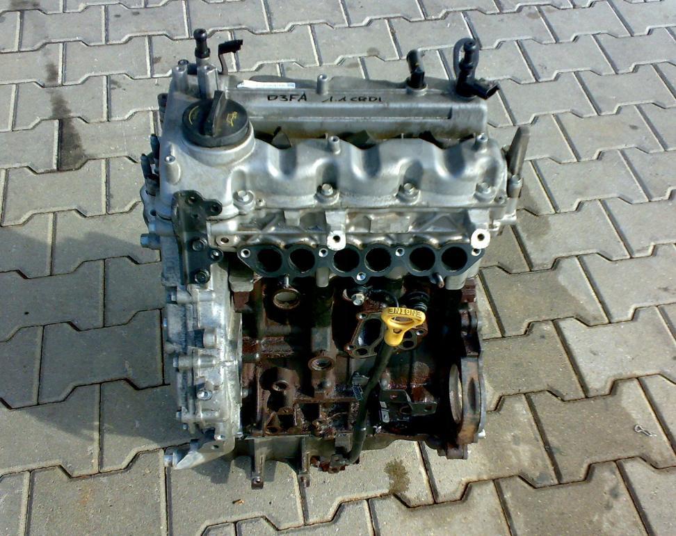 Motor 1,1 CRDI D3FA na Hyundai i10 i20 Kia Picanto Rio