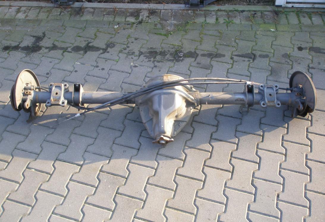 Zadný diferenciál 48:11 zadná náprava Mercedes Sprinter 906 VW Crafter