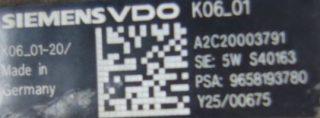 Vstrekovacie čerpadlo A2C20003791 5WS40163 9658193780 na vozidlá Ford 2,0 TDCi Volvo 2,0D Peugeot Citroen 2,0 HDi