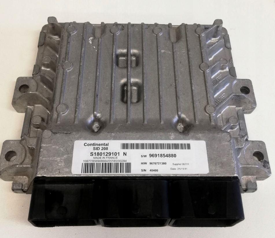 Riadiaca jednotka na Citroen Jumper Peugeot Boxer 2,2 HDi S180129101N 9691854880