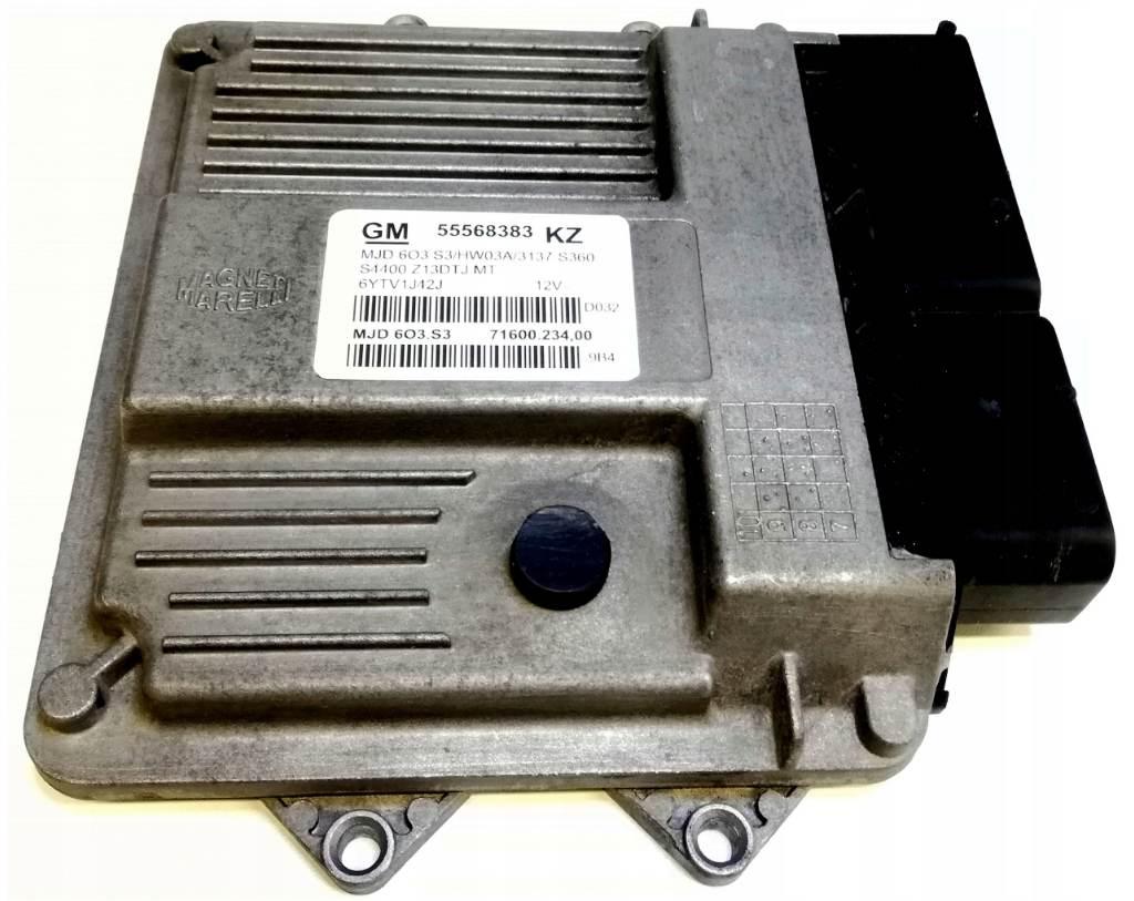 Riadiaca jednotka 55568383 KZ MJD603.S3 Opel Corsa D 1,3 CDTi