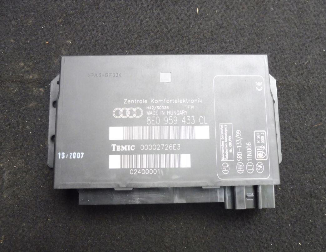 Riadiaca jednotka komfortu Audi A4 Seat Exeo 8E0959433CL