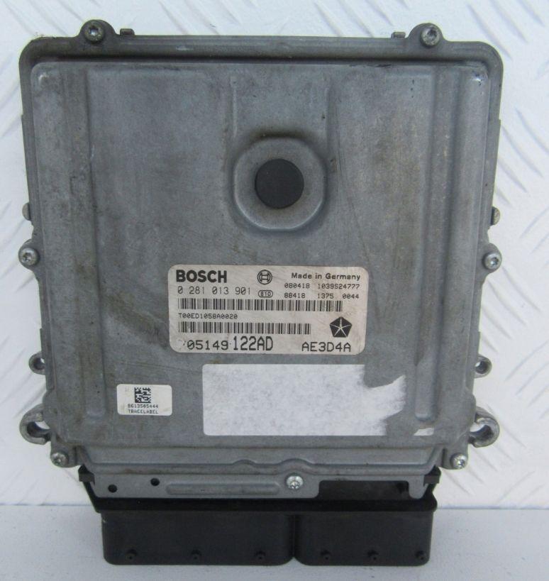 Riadiaca jednotka 0281013901 P05149122AD na Chrysler 300C 3,0 CRD