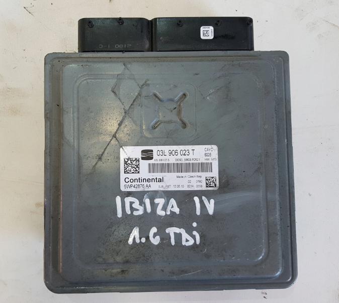 Riadiaca jednotka 03L906023T 5WP42876AA Seat Ibiza 1,6 TDI