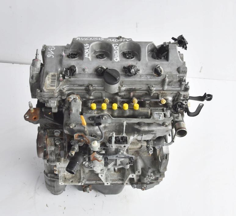 Motor 2,0 D4D 1AD-FTV 1AD Toyota Auris Avensis Corolla Verso 93 kW