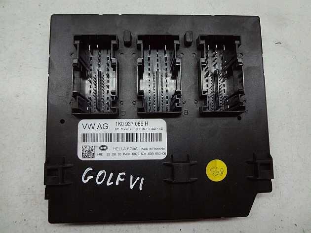 Jednotka modul komfortu  1K0937086H na VW Golf 6 Jetta
