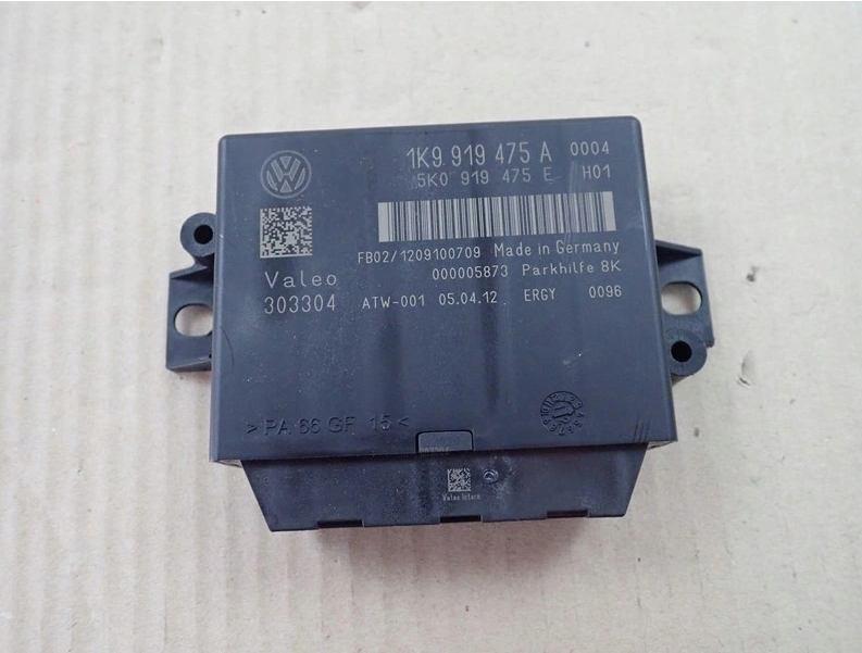 Riadiaca jednotka modul parkovania PDC na VW Golf 1K9919475A 5K0919475E