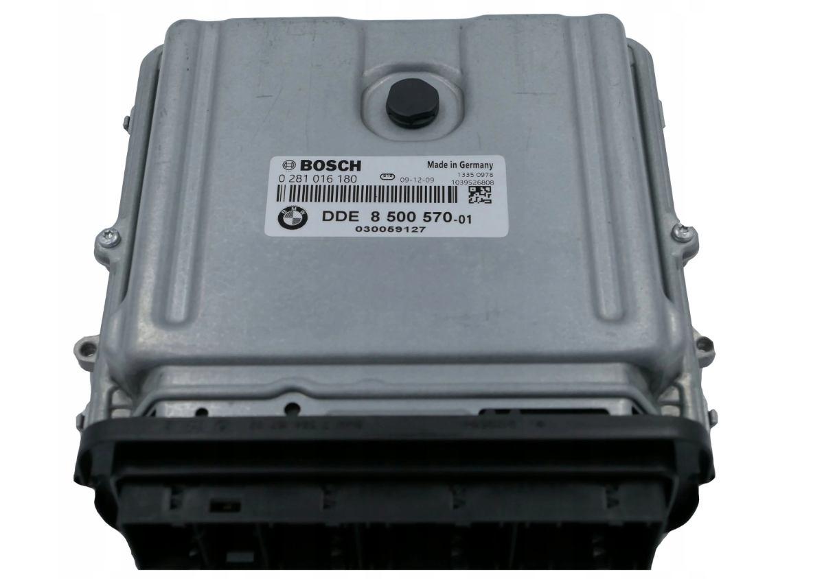 Riadiaca jednotka 0281016180 DDE 8500570 na BMW X5 E70 3,0D