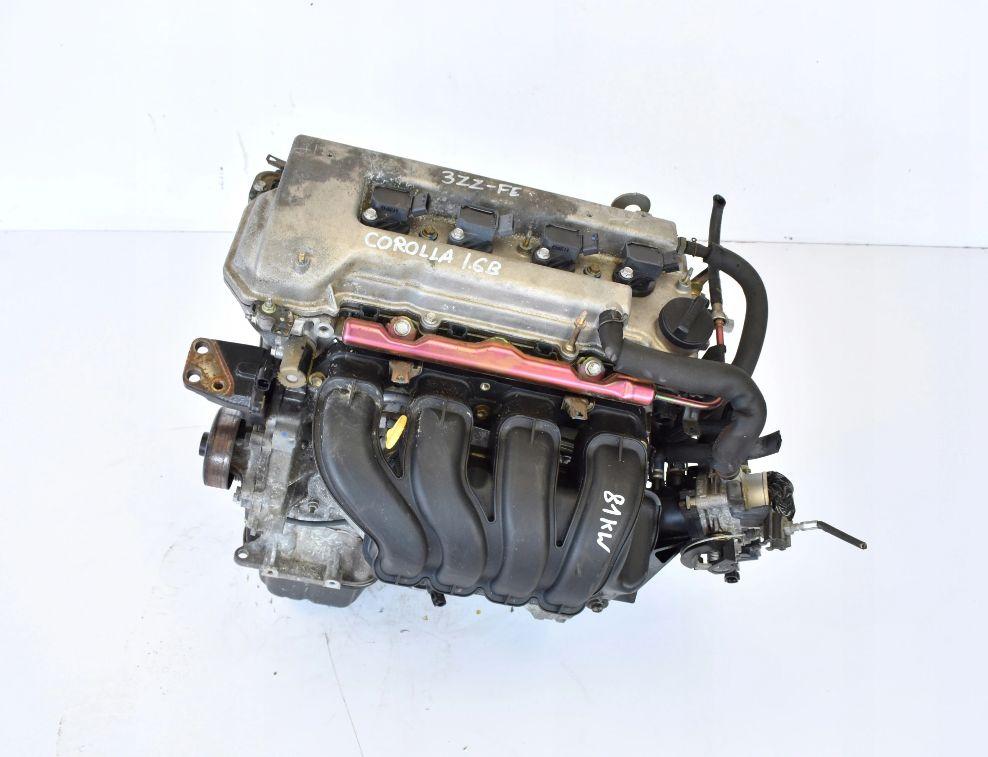 Motor 1,6 VVTI 81 kW 3ZZ-FE Toyota Corolla Avensis Verso